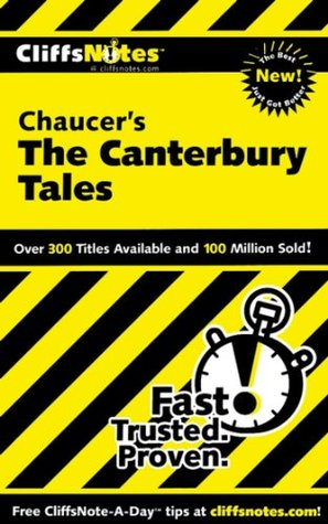 CliffsNotes on Chaucers The Canterbury Tales (Cliffsnotes Literature Guides)  by  James L Roberts