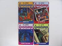Goosebumps Book Set #1-4 (Welcone To Dead House, Stay Out Of The Basement, Monster Blood, Say Cheese And Die!)