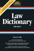 Barrons Law Dictionary  by  Stephen H. Gifis