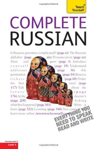 Complete Russian with Two Audio CDs: A Teach Yourself Guide  by  Daphne M. West