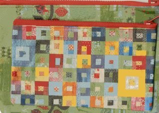 Sunday Morning Quilts Eco Pouch Set Amanda Jean Nyberg