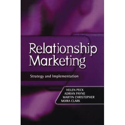 relationship marketing strategy and implementation 1999