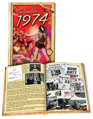 1974 Flickback Mini-Book 40th Birthday Gift or 40th Anniversary Gift  by  Flickback Media, Inc.