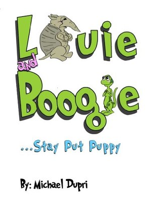 Louie and Boogie ...Stay Put Puppy Michael Dupri