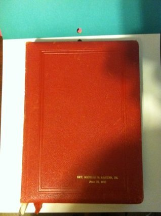 Book of Worship Evangelical and Reformed Church