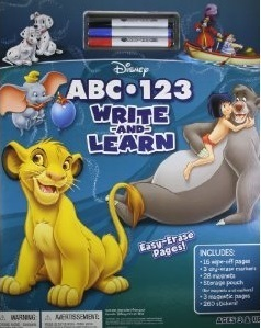 ABC-123 Write and Learn Walt Disney Company