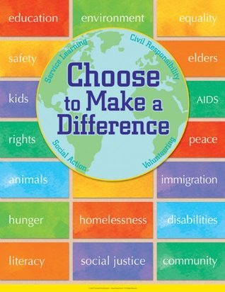Choose to Make a Difference Poster NOT A BOOK