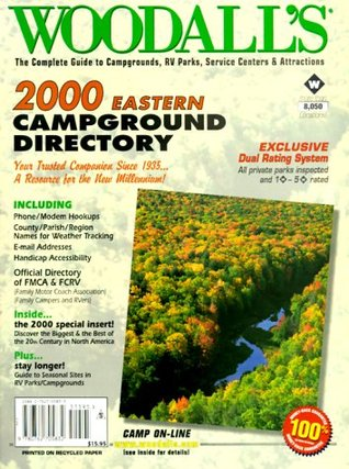 Woodalls Campground Directory for Eastern U.S.A. and Canada, 1995  by  Woodall