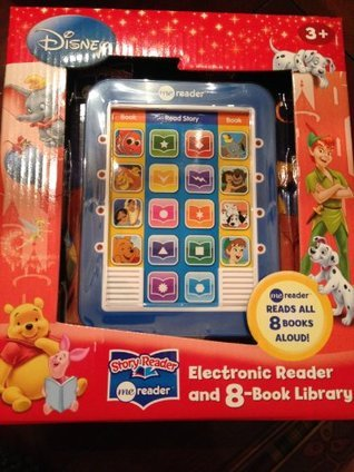 Disney Electronic Reader and 8-book Library  by  Publications International Ltd.