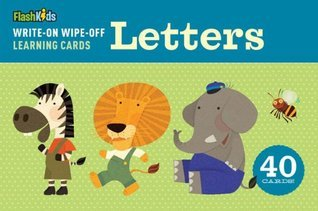 Write-On Wipe-Off Learning Cards: Letters Flash Kids Editors