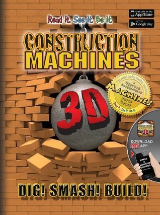Construction Machines 3D Popar Books