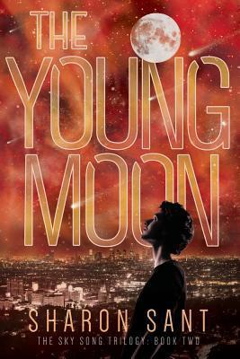 The Young Moon  by  Sharon Sant