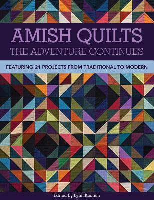 Amish Quilts the Adventure Continues: Featuring 21 Projects from Traditional to Modern Lynn Koolish