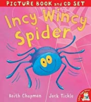 Incy Wincy Spider (Picture Book & Cd)