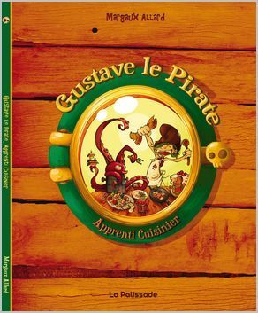 gustave le pirate  by  Margaux Allard