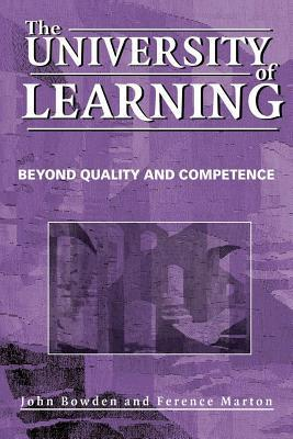 University of Learning: Beyond Quality and Competence Ference Marton