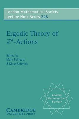Ergodic Theory and ZD Actions  by  Mark Pollicott