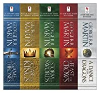 A Song of Ice and Fire, 5-Book Boxed Set: A Game of Thrones, A Clash of Kings, A Storm of Swords, A Feast for Crows, A Dance with Dragons (Song of Ice & Fire 1-5)