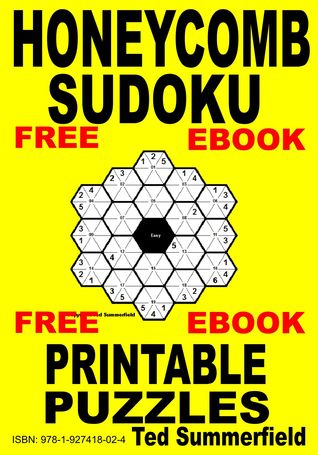 Honeycomb Sudoku Puzzles Ted Summerfield