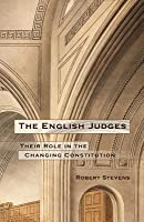 English Judges: Their Role in the Changing Constitution