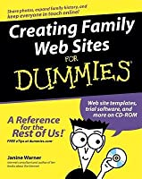 Creating Family Web Sites for Dummies