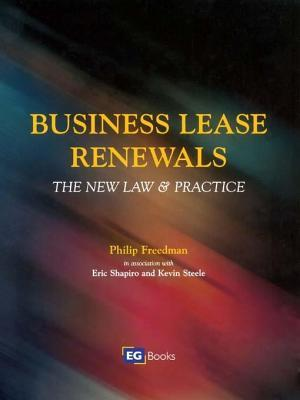 Business Lease Renewals  by  Eric Shapiro