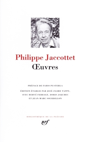 Œuvres Philippe Jaccottet