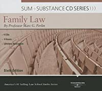 Perlin's Sum and Substance Audio on Family Law, 6th (CD)