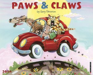 Gary Pattersons Paws n Claws 2014 Wall Calendar  by  Gary Patterson