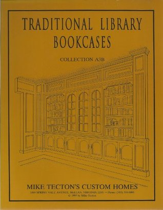 54 Traditional Library Bookcases: Collection A3-B Mike Tecton