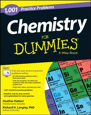 1001 Chemistry Practice Problems for Dummies  by  Heather Hattori