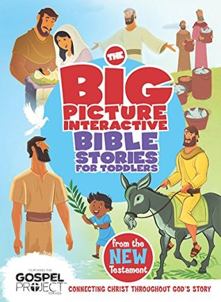 The Big Picture Interactive Bible Stories for Toddlers New Testament  by  BH Editorial Staff