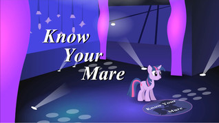 Know Your Mare  by  Overlord-Flinx