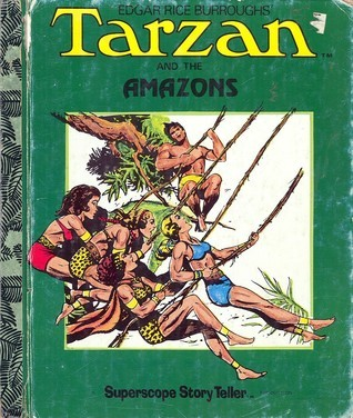 Tarzan and the Amazons  by  Jeff Skelley