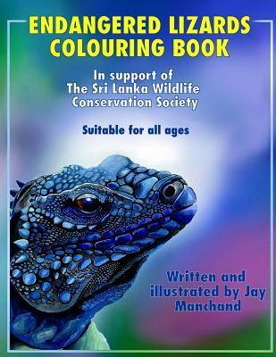 Endangered Lizards Colouring Book  by  Jay Manchand