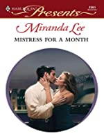 Mistress for a Month (Three Rich Men, #2)