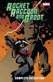Rocket Racoon and Groot Ultimate Collection Bill Mantlo