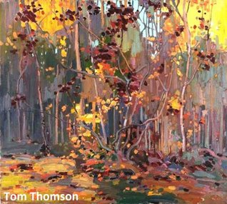 20 Color Paintings of Tom Thomson - Canadian Post Impressionist Painter (August 5, 1877 - July 8, 1917)  by  Jacek Michalak