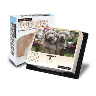 Keith Kimberlin - Puppies 2015 Day-at-a-Time Box Calendar  by  NOT A BOOK