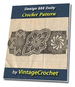 Design 555 Doilies Vintage Crochet Pattern eBook VintageCrochet