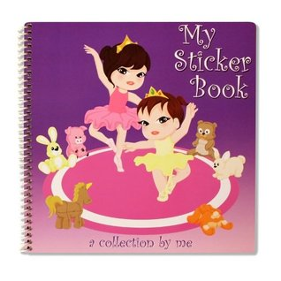 My Sticker Book: Ballerinas - Reusable Sticker Album  by  Sticker Solution