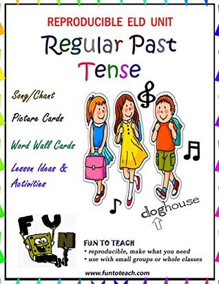 Regular Past Tense Verbs Song and Picture Cards  by  Lori Wolfe