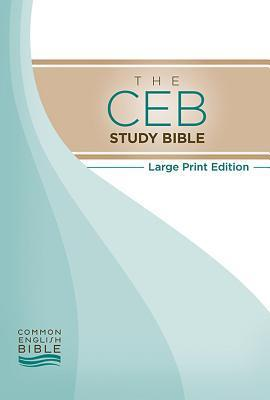 Study Bible-Ceb-Large Print Common English Bible