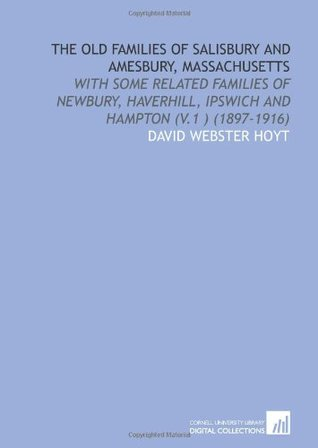 Record of the Hoyt Family Meeting  by  David Webster Hoyt