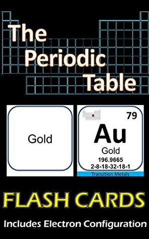 The Periodic Table Flash Cards Illustrated: Double Sided, includes Electron Configuration  by  Lionshare Media