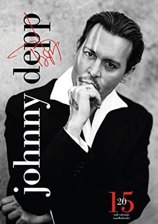 Official Johnny Depp 2015 Calendar  by  Johnny Depp