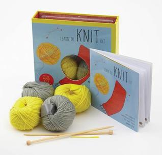 Learn to Knit Kit: Includes Needles and Yarn for Practice and for Making Your First Scarf-featuring a 32-page book with instructions and a project Carri Hammett