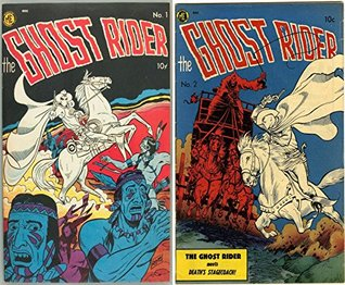 The Ghost Rider. Issues 1 and 2. Features Deaths stagecoach. Golden Age Digital Comics Paranormal.  by  Golden Age Mystery and Supernatural Comics