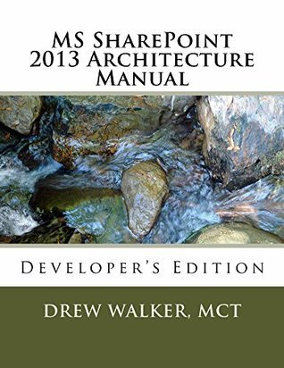 MS SharePoint 2013 Architecture Manual Drew Walker