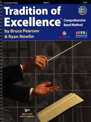 W62F - Tradition of Excellence book 2 Conductor Score Bruce Pearson